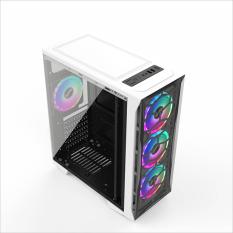 Thùng máy tính Case VSP KA – 190 Trắng Gaming kính cường lực