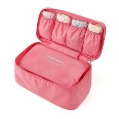 Túi mini màu hồng đựng đồ du lịch chống thấm PINK250 Pink Xinh Decor túi cầm tay nhiều ngăn đồ dùng tiện ích