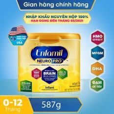 [FREESHIP 30K TOÀN QUỐC] [Nhập khẩu Mỹ] Sữa bột Enfamil NeuroPro Non-GMO Infant 587g (cho trẻ 0 – 12 tháng tuổi)