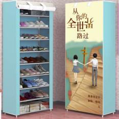 Tủ Giày Tủ Đựng Giày Tủ Vải Giầy Dép 10 Tầng 9 Ngăn Tủ Dựng Giày Dép Cao Cấp Kệ Đựng Giầy Dép 3D Nhiều Màu Siêu Bền Đẹp