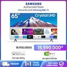 Smart TV Samsung Crystal UHD 4K 65 Inch 65TU6900 [Hàng chính hãng, Miễn phí vận chuyển]