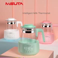 Bình đun sôi hâm nước pha sữa Misuta thông minh giữ nhiệt điều khiển từ xa cảm ứng- Loại 1200ml