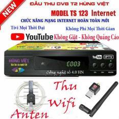Đầu thu kỹ thuật số DVB T2 TS123 Youtube (Xem truyền hình miễn phí)
