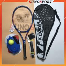 Vợt Tennis W205 Sợi Carbon Siêu Nhẹ Tặng Kèm Bóng Đế Tập Luyện Được Phân Phối Chính Thức Bởi Kunosport