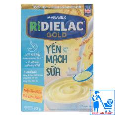 Bột Ăn Dặm Dinh Dưỡng Vinamilk Ridielac Gold Yến Mạch Sữa Hộp 200g (Dành cho trẻ 6~24 tháng tuổi)