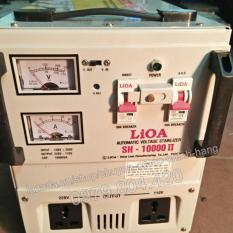 Ổn Áp Lioa 10KVA 1 Pha Dải 150-250V, Thế Hệ II 100% Dây Đồng