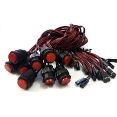 Nút nguồn nút nguồn pc nút nguồn máy tính nút nguồn power led 80cm Nút nguồn máy tính Power và Led đỏ dài 80Cm