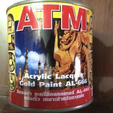Sơn dầu nhũ vàng đồng ATM 666 Thái Lan 225ml