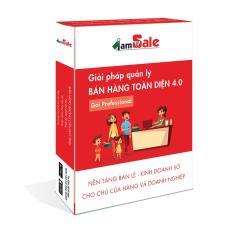Phần mềm quản lý bán hàng toàn diện iamSale gói Professional 2 năm