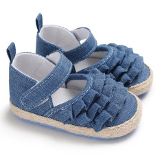 Giày cho bé gái giày công chúa hồng xanh