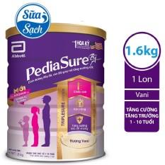 Sữa Bột Pediasure B/A Hương Vani 1.6Kg Date Mới