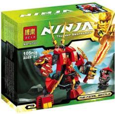 Lắp ráp Ninja 9790 chiến binh Kai Bela Fire thunder Swordsman