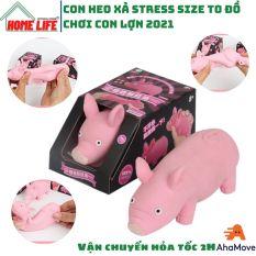 Con heo xả stress size to đồ chơi con lợn bóp mềm chất liệu TPR co dãn đàn hồi ngộ nghĩnh, xả stress giải tỏa căng thẳng