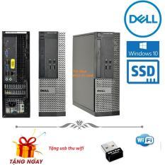 TẶNG USB WIFI + BÀN DI CHUỘT. Máy tính đồng bộ Dell Optiplex 7010/9010 SFF Core i5 3470 RAM 8GB HDD 500GB – SSD 120gb. Bảo hành 24 tháng ( không kèm màn hình )