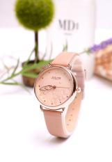 Đồng hồ nữ Julius Hàn Quốc JA-1239A dây da (Màu da)