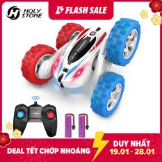 Xe đua đồ chơi trẻ em DEERC DE38 siêu tốc độ điều khiển từ xa 2.4G xoay và nhào lộn 360° có kèm pin dự phòng – INTL
