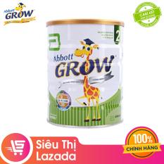 [Siêu thị Lazada] Sữa bột Abbott Grow 2 900g – hỗ trợ tiêu hóa phát triển hệ xương giúp bé tăng cân hỗ trợ hệ miễn dịch