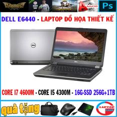 [Nhập ELMAR31 giảm 10% tối đa 200k đơn từ 99k]khủng đồ họa Dell E6440 Core i7 4600M Core i5 4300MRam 16G SSD 128+ HDD 1TB Màn 14in Dòng máy đồ họa mỏng nhẹ bền bỉ