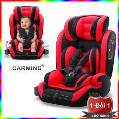 Ghế ngồi ô tô cho bé từ 9 tháng đến 12 tuổi (Từ 9-36Kg) CARMIND – Ghế ngồi an toàn cho bé trên xe hơi – Ghế ngồi phụ dày đa năng trên ô tô – Ghế ô tô cho bé an toàn chắc chắn CarMind