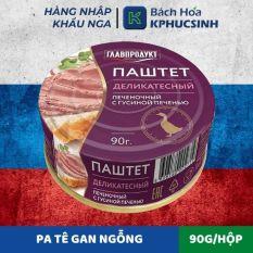 [HCM Giao Nhanh] PA TÊ GAN NGỖNG HIỆU GLAVPRODUCT – 90g – Hàng Nhập Khẩu Nga (Russia)