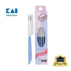 Dao cạo lông mày cao cấp Nhật Disposable BTMG-5F bộ 5 chiếc (màu xanh)