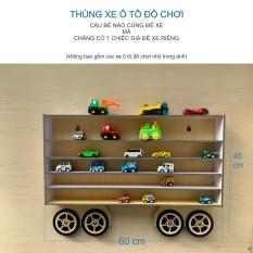 Thùng xe đồ chơi treo tường cho bé