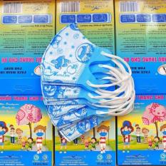 [HỘP 10 CÁI] Khẩu Trang Y Tế Trẻ Em (0-5 Tuổi) Kháng Khuẩn/Chống Virus 99% (5D FAMAPRO – 3D MASK BIDEN – KID'S,…) – Khẩu trang y tế chống bụi mịn PM2.5 & Khẩu trang y tế 4 lớp hộp 50 cái em bé cho bé trai bé gái sơ sinh kid nhật bản