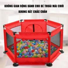 Lều bóng cho bé, thiết kế siêu an toàn chắc chắn giành cho bé vui chơi mỗi ngày, khung inox