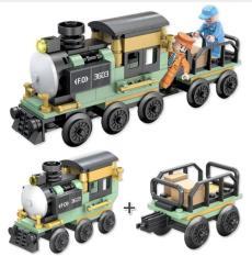 Tàu hỏa chở hàng FC3603 Forange Block đồ chơi lắp ráp