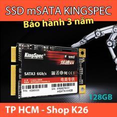 SSD mSATA 128GB KingSpec KSM128 Kích Thước 30mm x 50mm