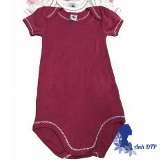 Bộ bodysuite áo liền quần trẻ em thương hiệu Petit Bateau xuất Pháp