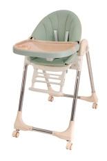 Ghế Ăn Dặm Cao Cấp bằng da, nâng hạ độ cao, nằm ngả cho trẻ từ 6 tháng – 5 tuổi PAPAGO
