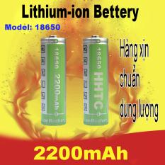 Pin sạc 18650 HHTC 2200mAh Chuẩn dung lượng sài ngon ( giá 1 cục )