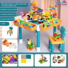 [Mã SKAMPUSHA8 giảm 8 đơn 300K] Bàn xếp hình Lego đa chức năng trẻ em, đồ chơi trí tuệ, thông minh cho bé