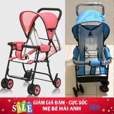 [ĐƯỢC CHỌN MÀU]Xe đẩy tay thoáng khí hiện đại cho bé, xe đẩy trẻ em cao cấp – MBHUONG24