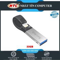 USB 3.0 OTG SanDisk iXpand 32GB dành cho Iphone / Ipad (Bạc) – Nhất Tín Computer