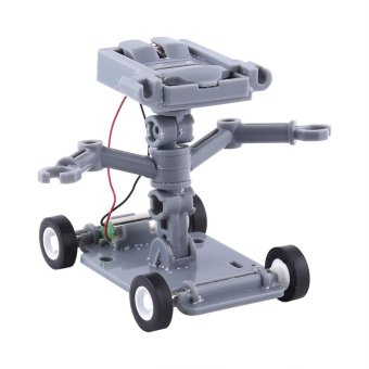 1Pc Stylish Plastic Miniature Construction Robot Powered By SaltWater Children Kids Toys - intl