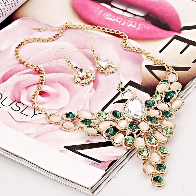 2017 Fashion Women Bohemian Vintage Collar Statement Necklace jewel- intl