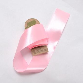 3m ruy băng lụa 4cm hồng phấn RB83