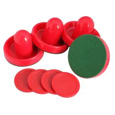 4 chặt hải đăng khúc côn cầu above bàn and 4 tây đẩy Màu đỏ