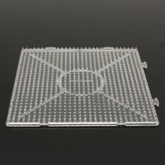 4PCs Large Pegboards for Perler Bead / Hama Fuse Beads Clear Square Design Board New – intl