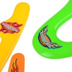 4pcs Lightweight Genuine Returning Dart Throwback Kids Colorful Boomerang – intl