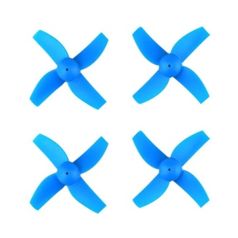 4pcs Propellers Blades Props Micro Drone Spare Parts for JJRC H36 RC Airplane (Random Color) - intl