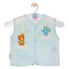 Áo ghile màu AN0333 – HELLO BB (hình thêu ngẫu nhiên)