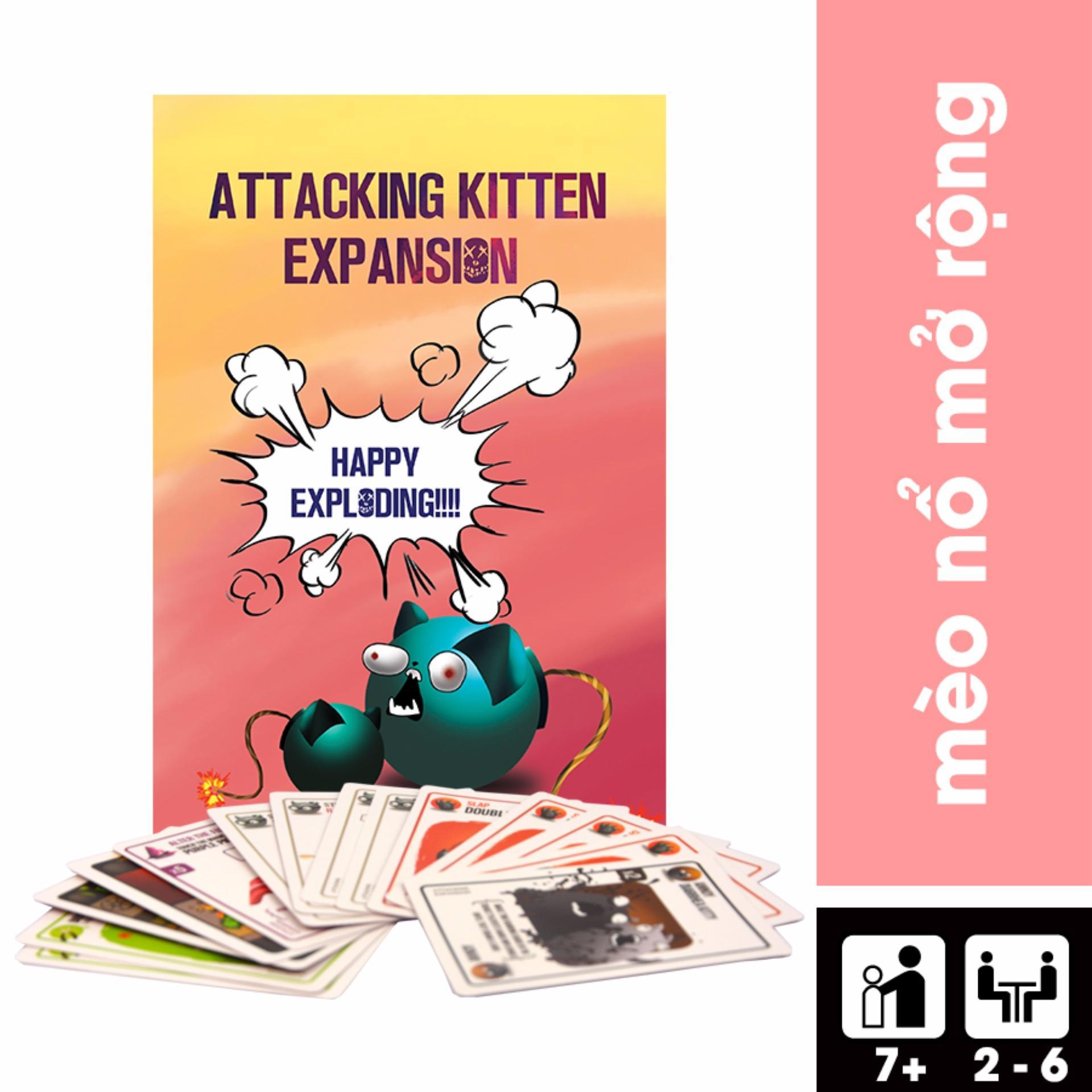 Giá Niêm Yết Attacking Kittens – Mèo Nổ Bản Mở Rộng #2