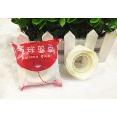 Băng dính 2 mặt chuyên dùng để dán bóng sinh nhật (2 cuộn) / Hello Baby