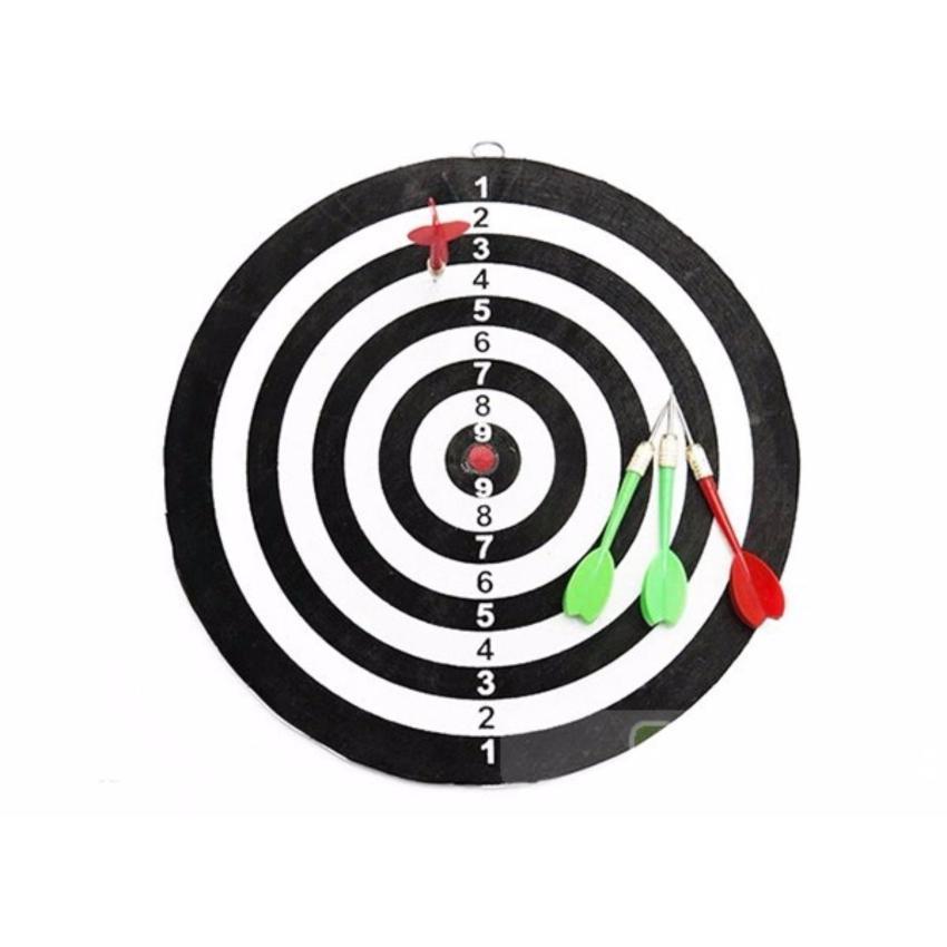 Hình ảnh Bảng phi tiêu 4 mũi tên ( tặng móc khóa )