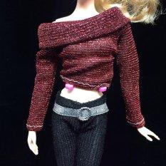 Búp Bê Barbie Thời Trang Handmade Quần Áo Đầm Phong Cách Khác Nhau Dành Cho Trẻ Em-intl