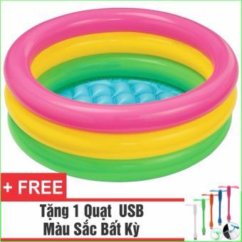 Bể Bơi Phao Cho Bé INTEX tròn - Loại 3 tầng 1m47 + Tặng 1 Quạt USB tiện dụng - 10280643 , NO007TBAA3FGB2VNAMZ-6037693 , 224_NO007TBAA3FGB2VNAMZ-6037693 , 429000 , Be-Boi-Phao-Cho-Be-INTEX-tron-Loai-3-tang-1m47-Tang-1-Quat-USB-tien-dung-224_NO007TBAA3FGB2VNAMZ-6037693 , lazada.vn , Bể Bơi Phao Cho Bé INTEX tròn - Loại 3 tầng 1m47 + T