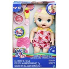 Bé Lily Tập Ăn Dặm – Baby Alive Super Snacks – Hasbro C2697